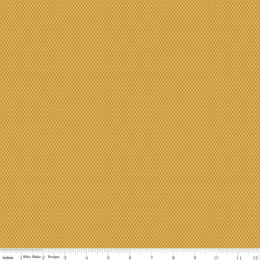 Buttermilk Basics * C9184 Yellow - 1/2 yard
