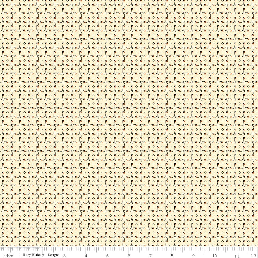Buttermilk Basics * C9185 Orange - 1/2 yard