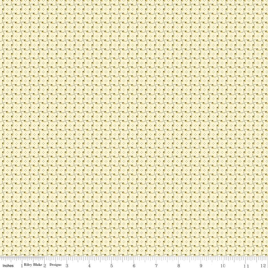 Buttermilk Basics * C9185 Yellow - 1/2 yard