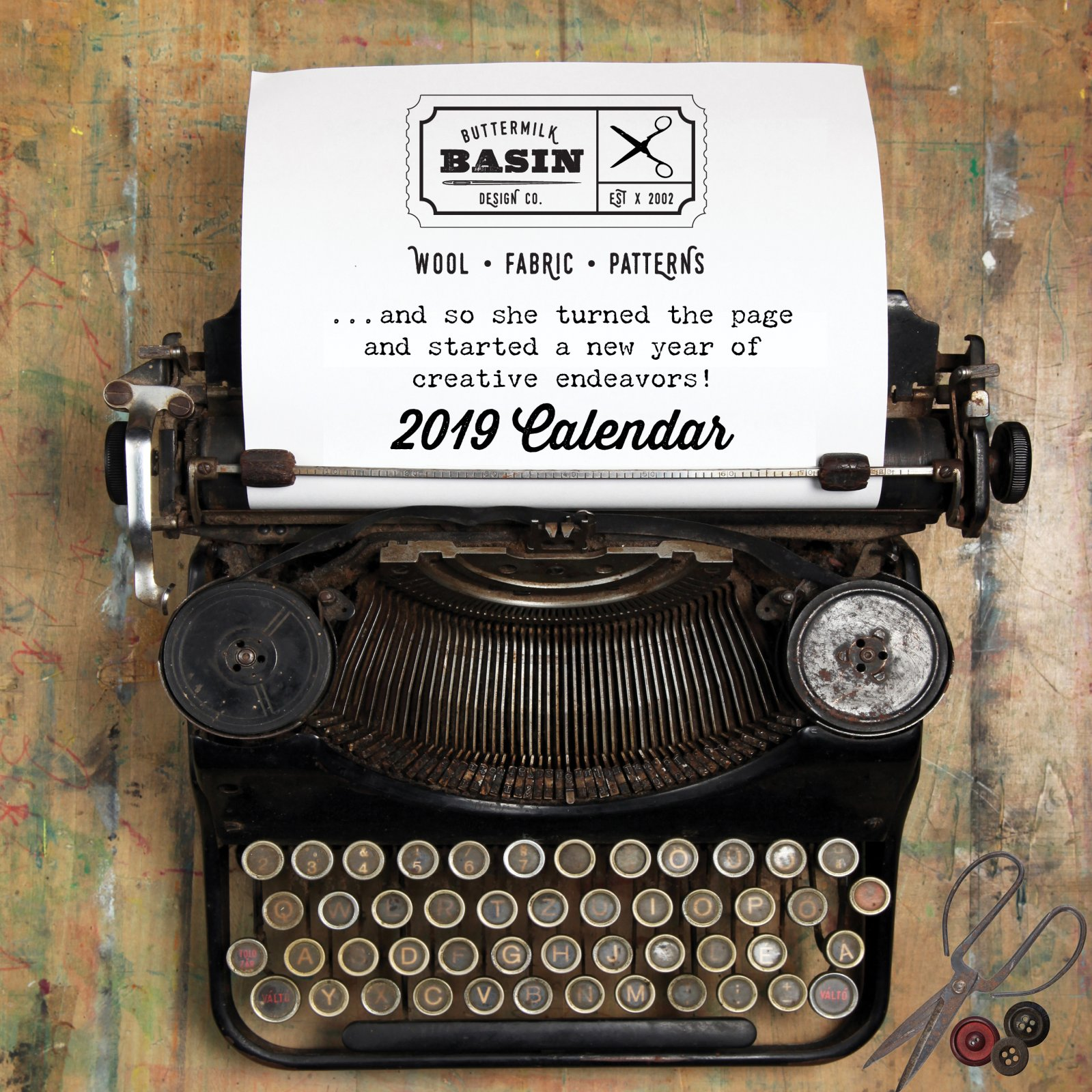Buttermilk Basin 2019 Calendar