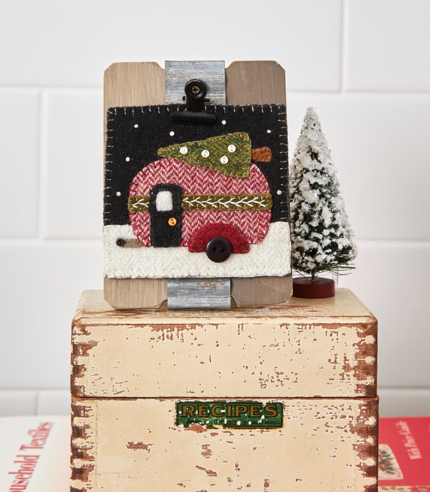 Christmas Camper Simply Square *Kit & Pattern