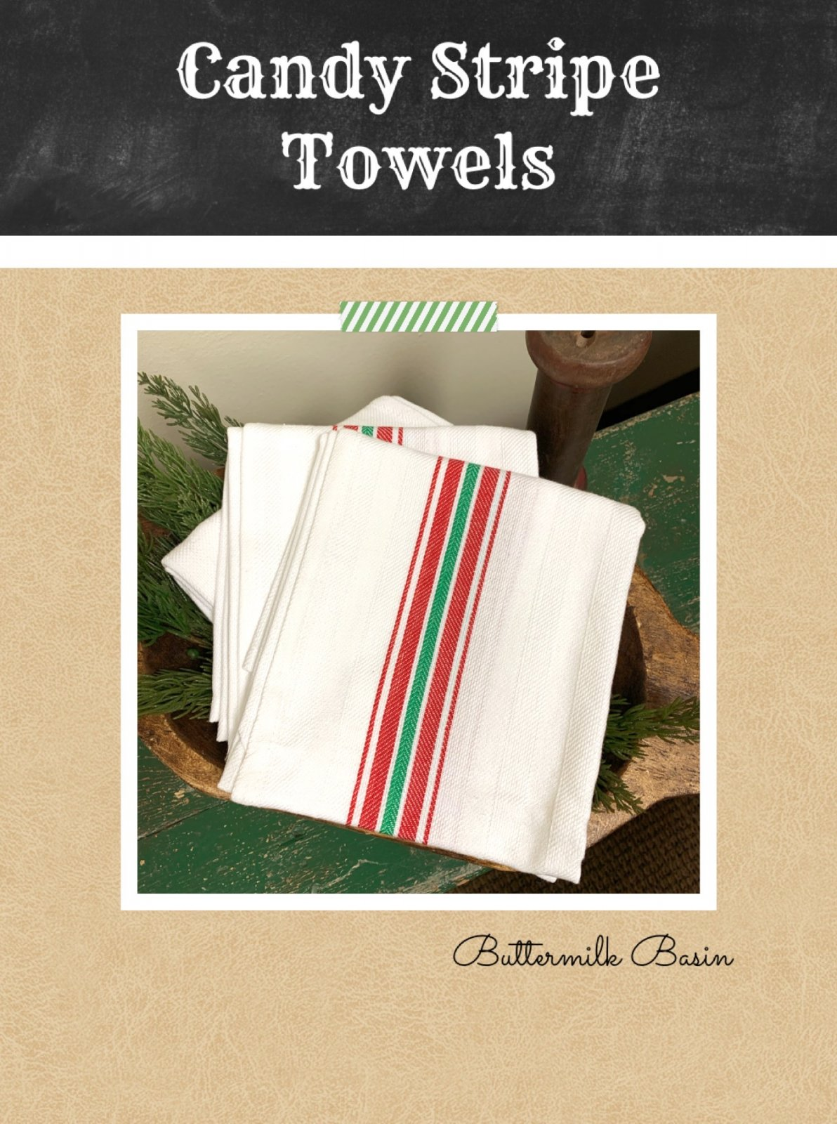 Candy Stripe Towel