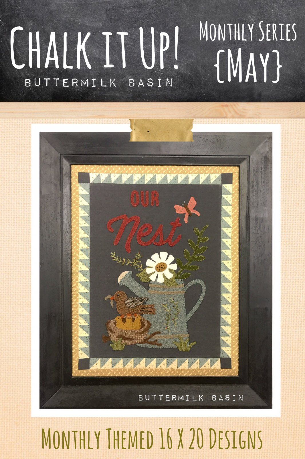 Chalk it Up!  May KIT & Pattern