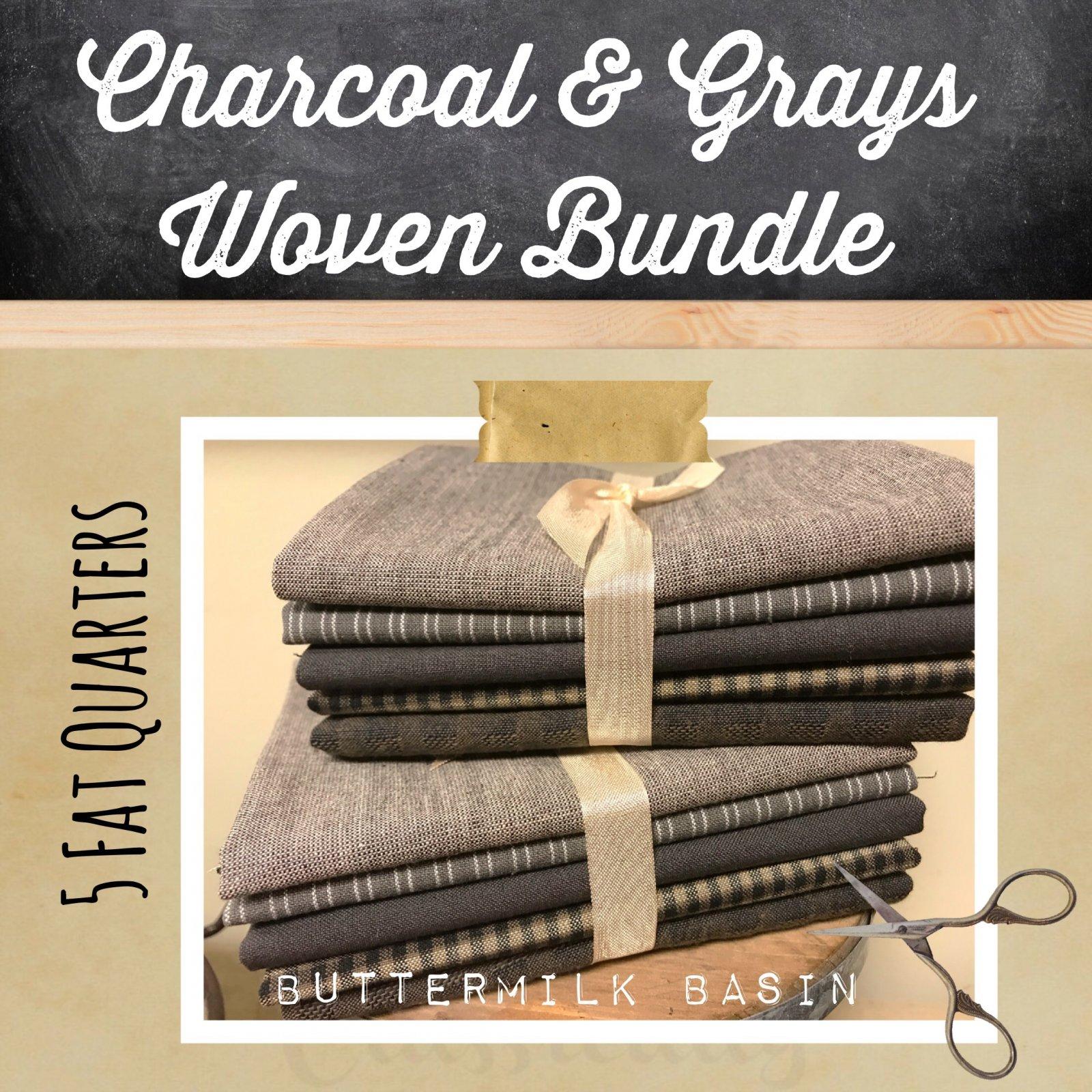 Charcoal & Grays Woven Bundle