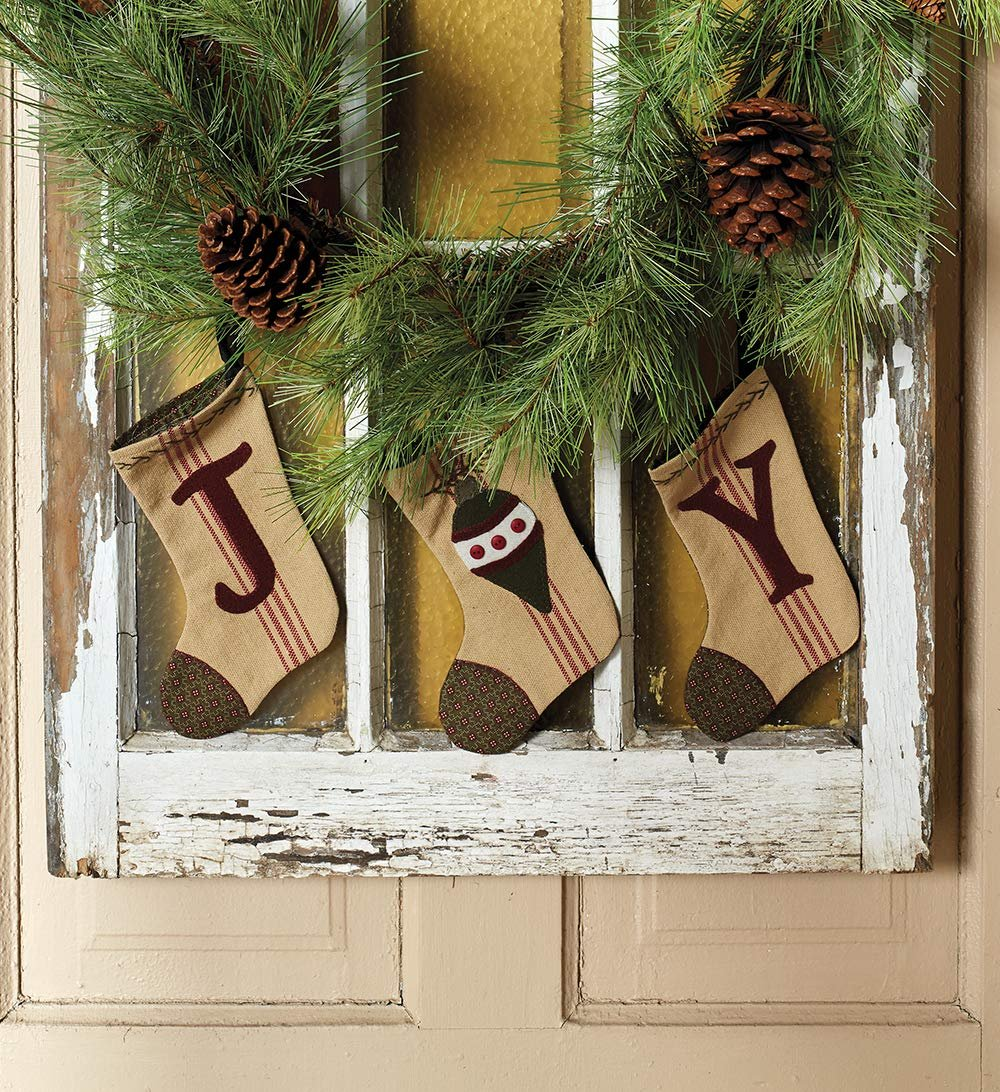 Christmas at Buttermilk Basin * JOY Stocking Set Kit