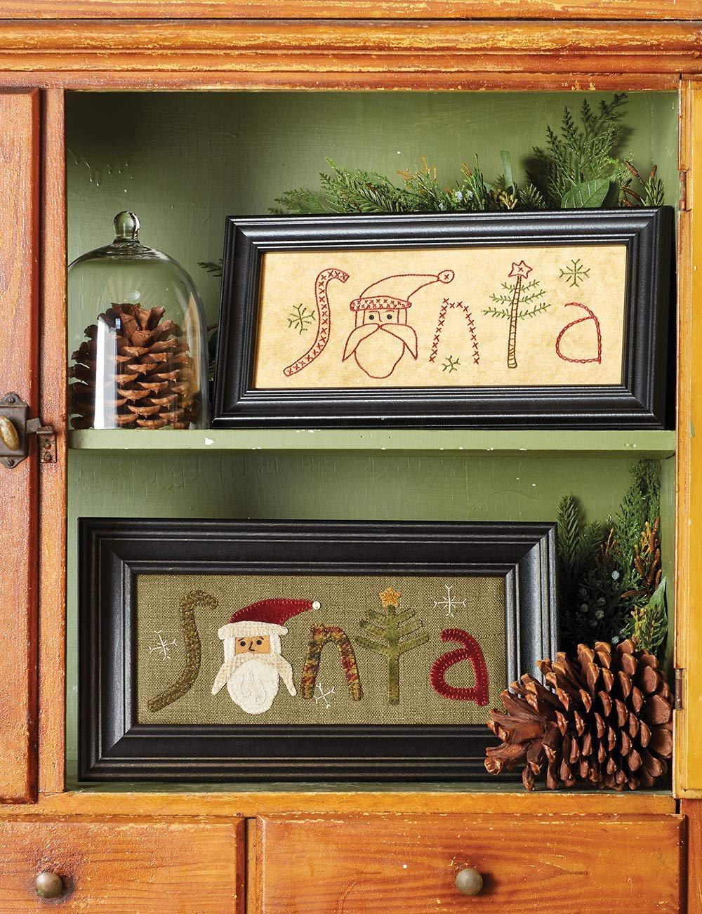 Christmas at Buttermilk Basin * SANTA in Wool Kit