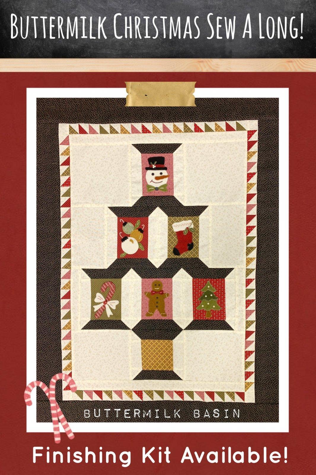 Buttermilk Christmas Sew A Long * KIT & Pattern