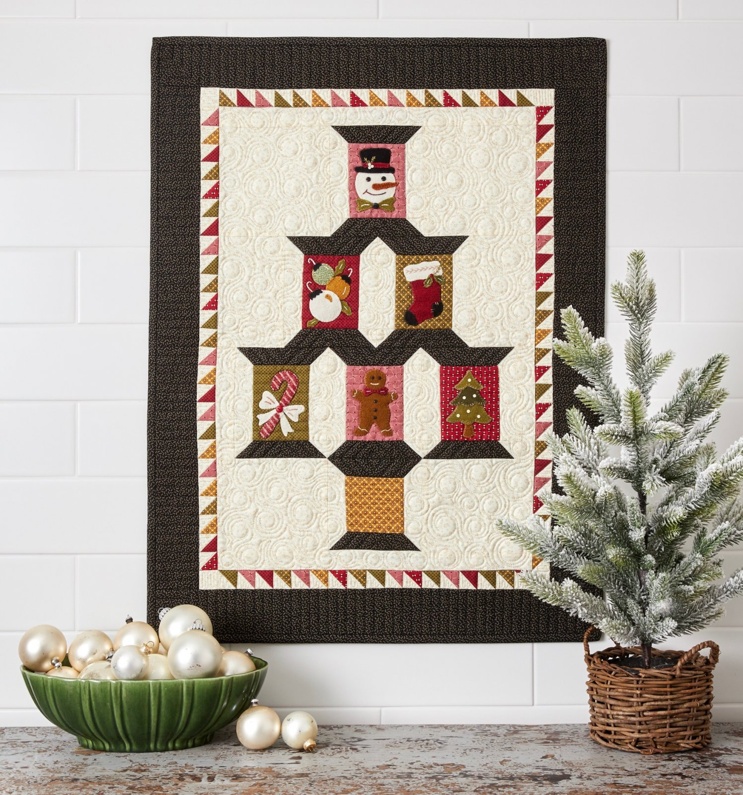 Christmas Spool Quilt * KIT & Pattern