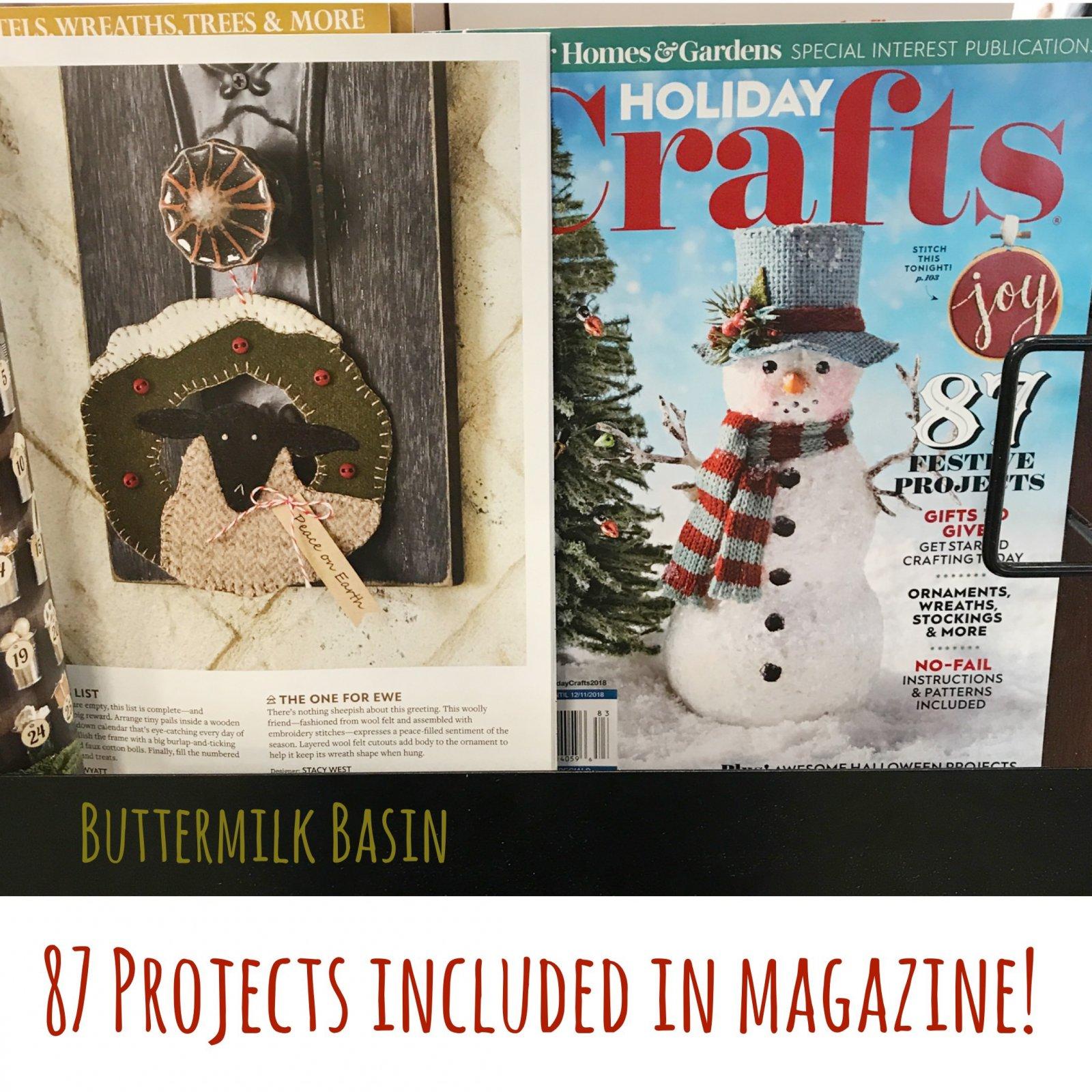 Holiday Crafts Magazine - 2018