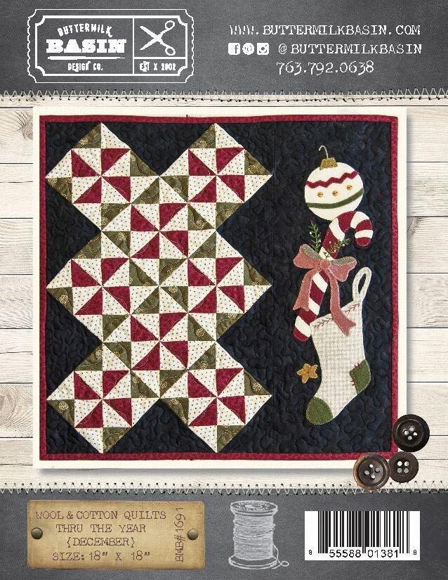 Wool & Cotton Quilts thru the Year * December