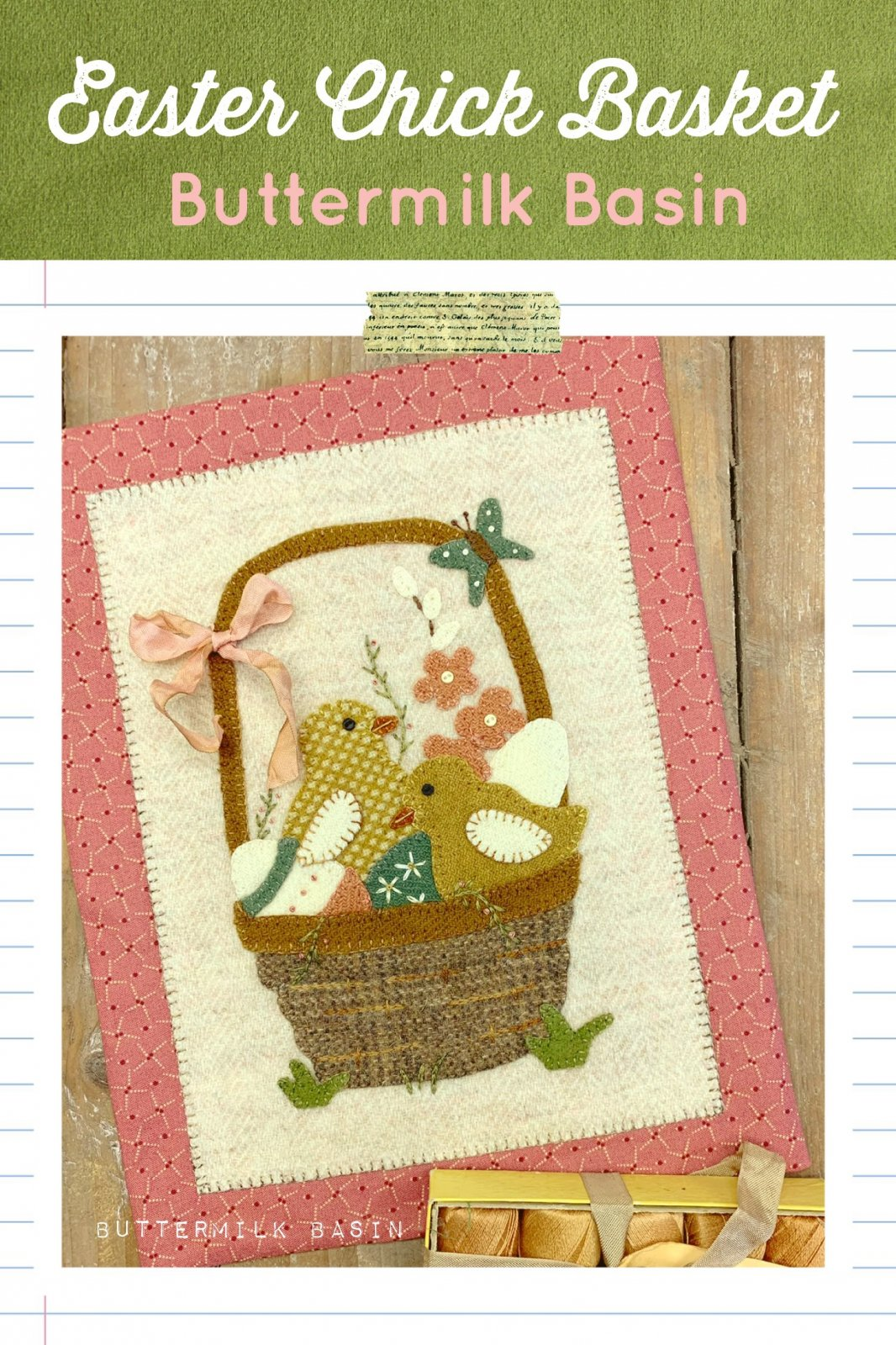 Easter Chick Basket * Pattern