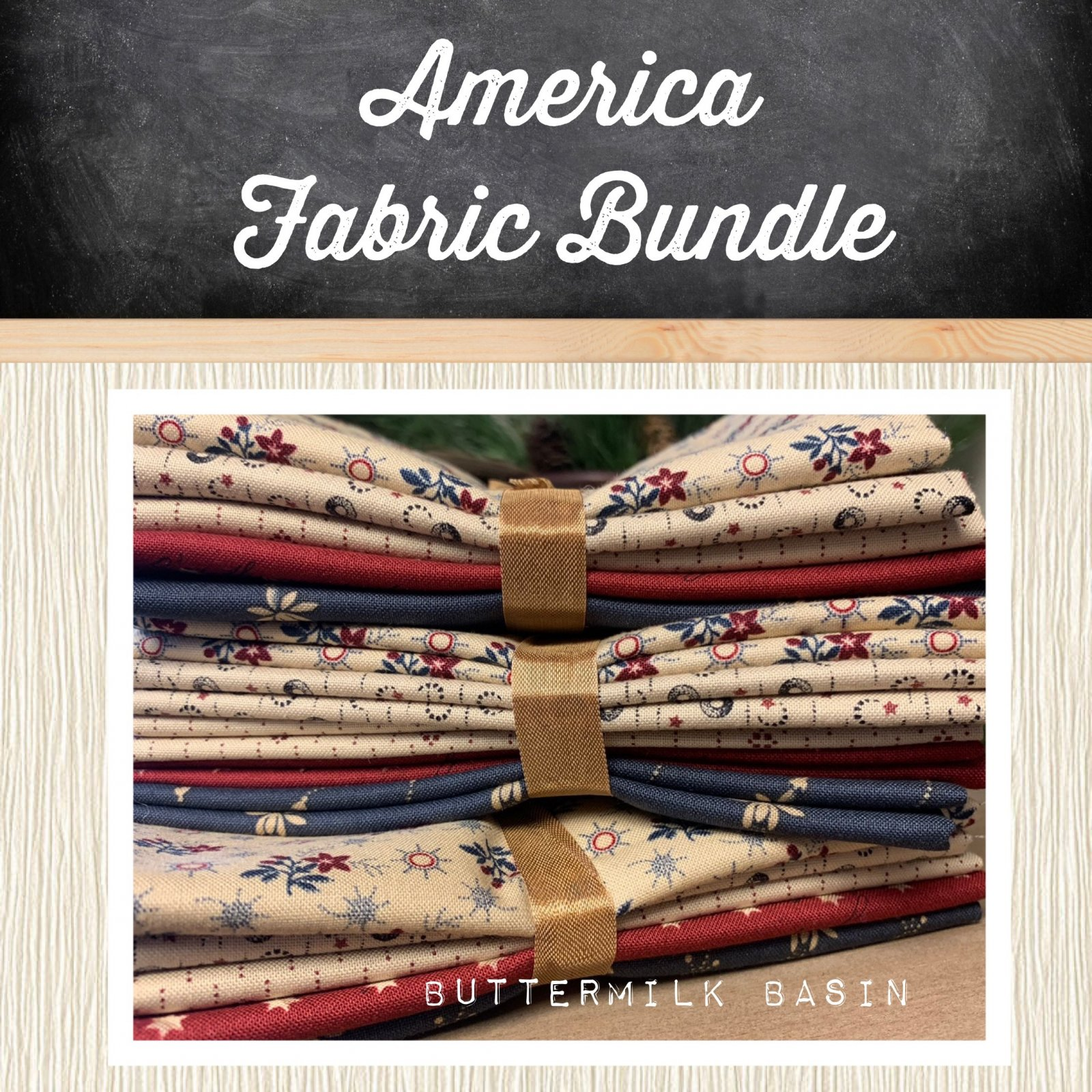 America Fabric Bundle