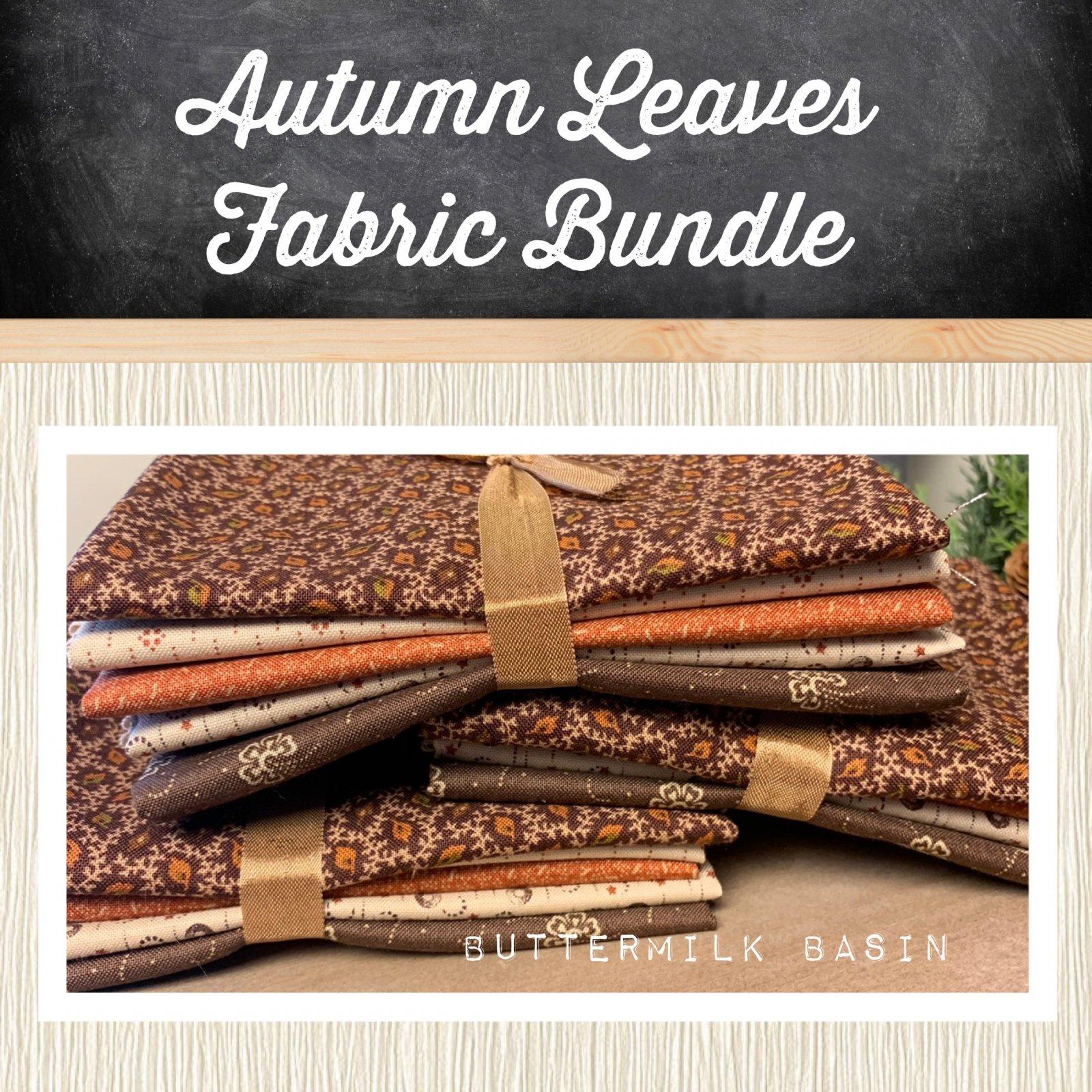 Autumn Leaves Fabric Bundle