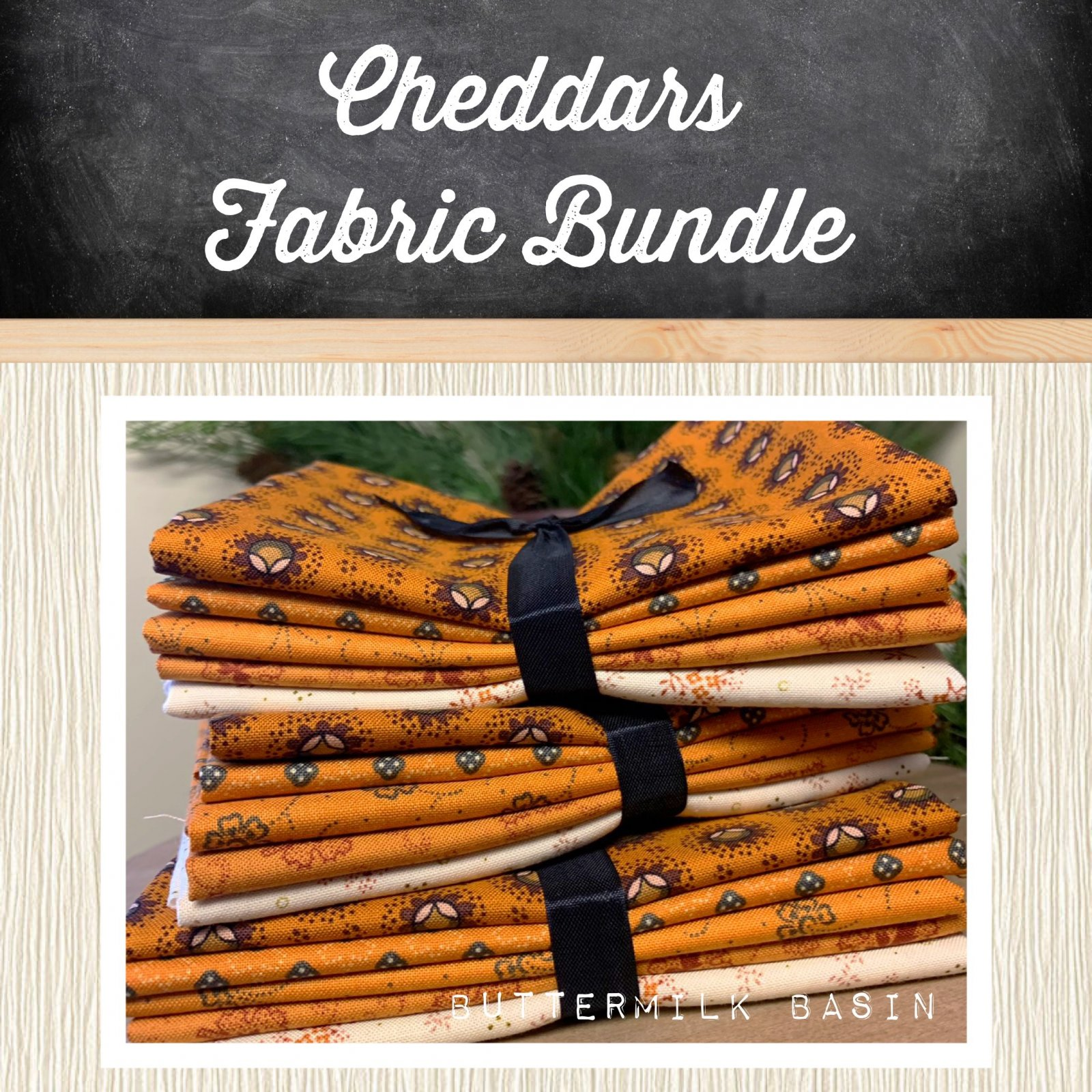 Cheddars Fabric Bundle