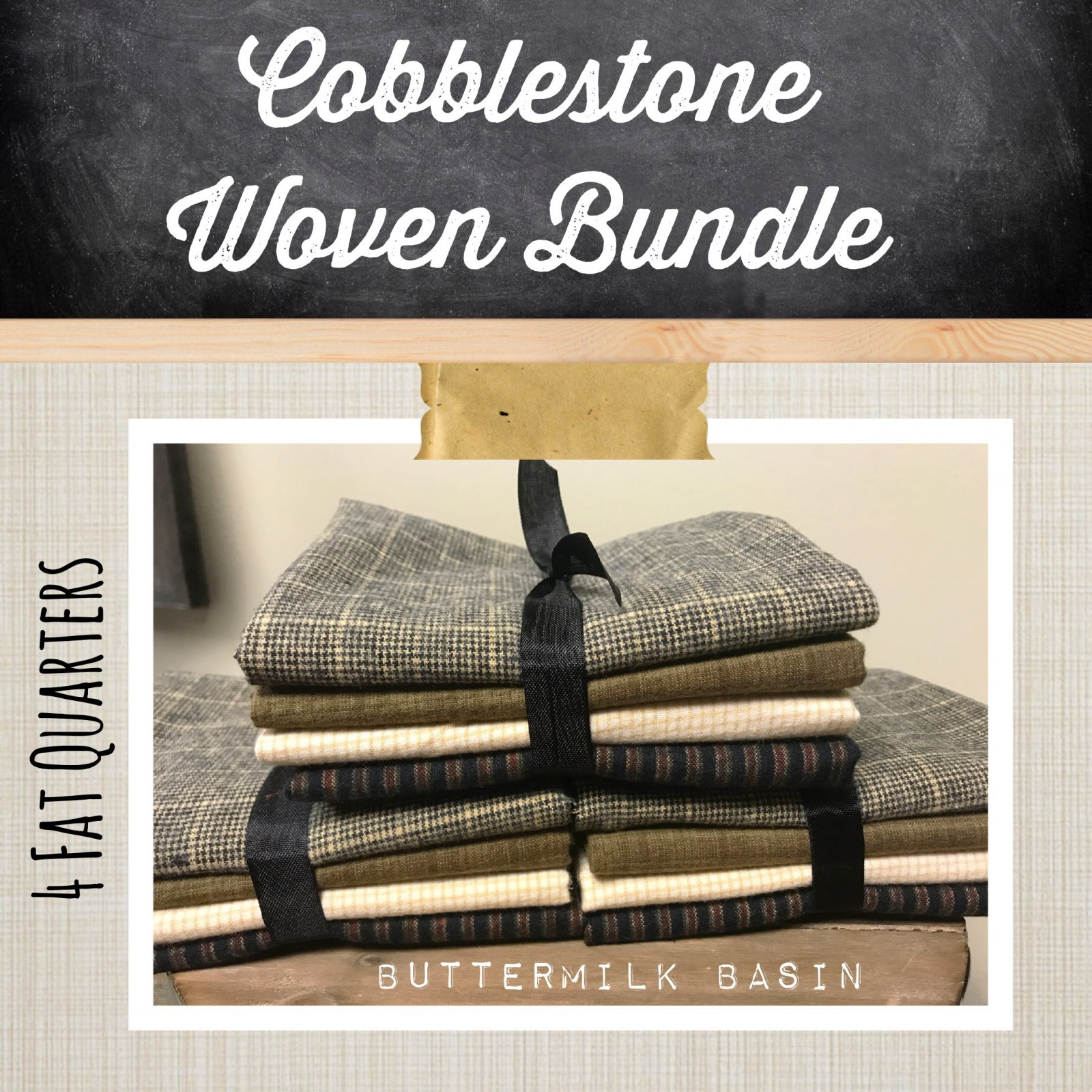 Cobblestone Woven Bundle