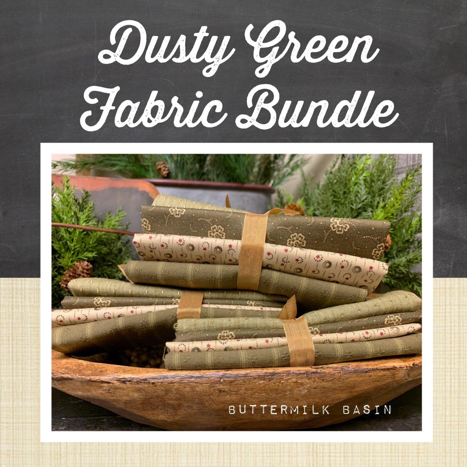 Dusty Green Fabric Bundle