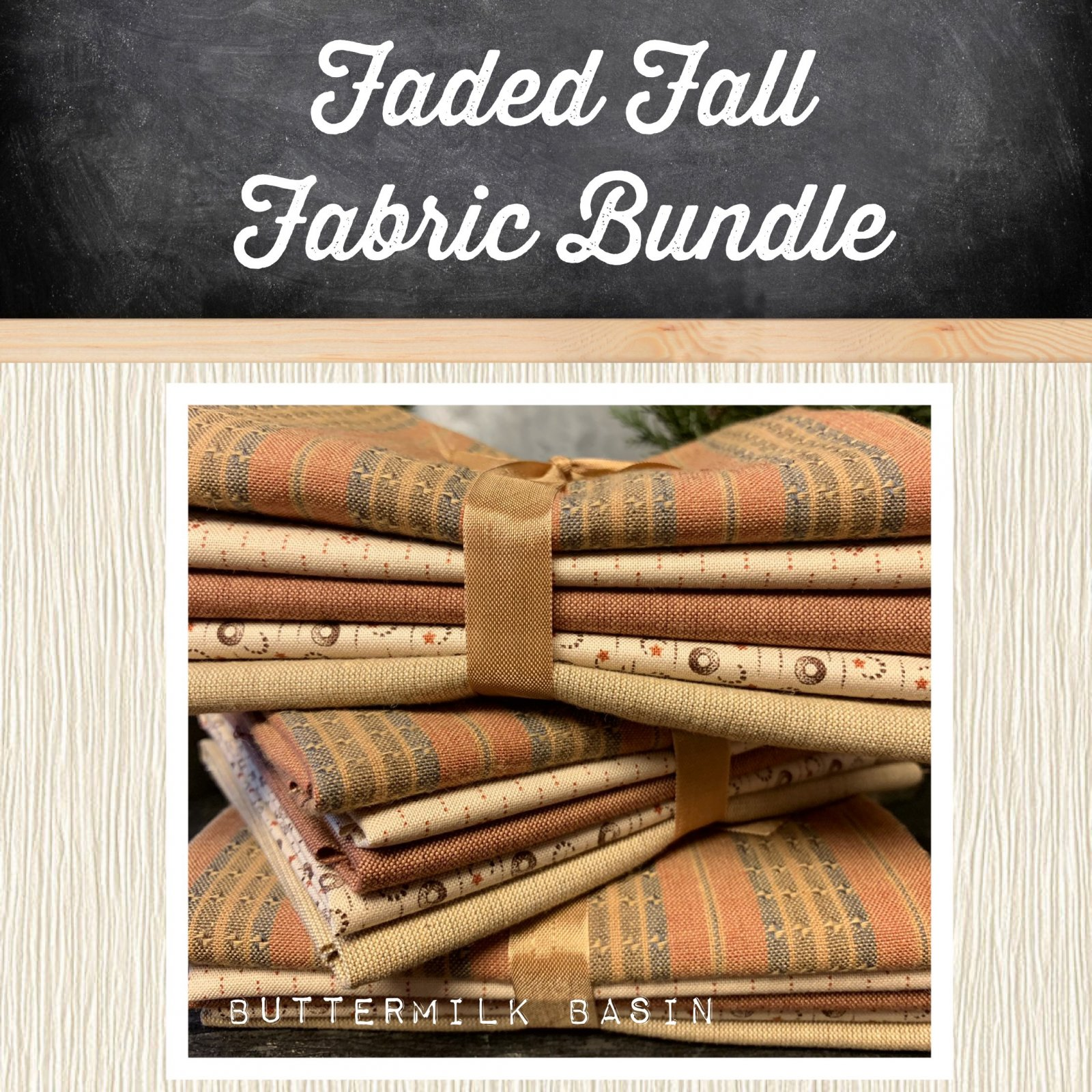 Faded Fall Fabric Bundle