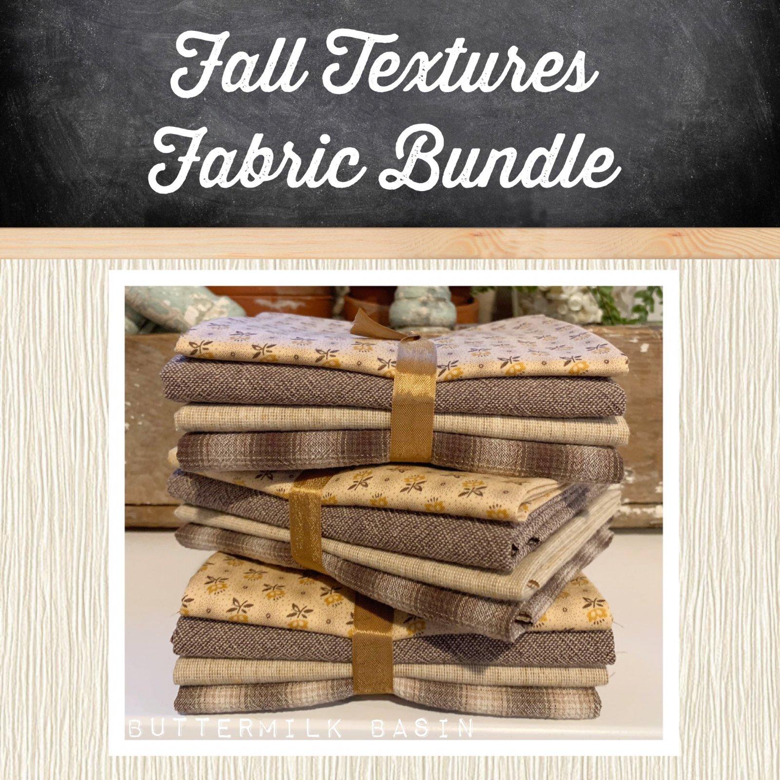 Fall Textures Fabric Bundle