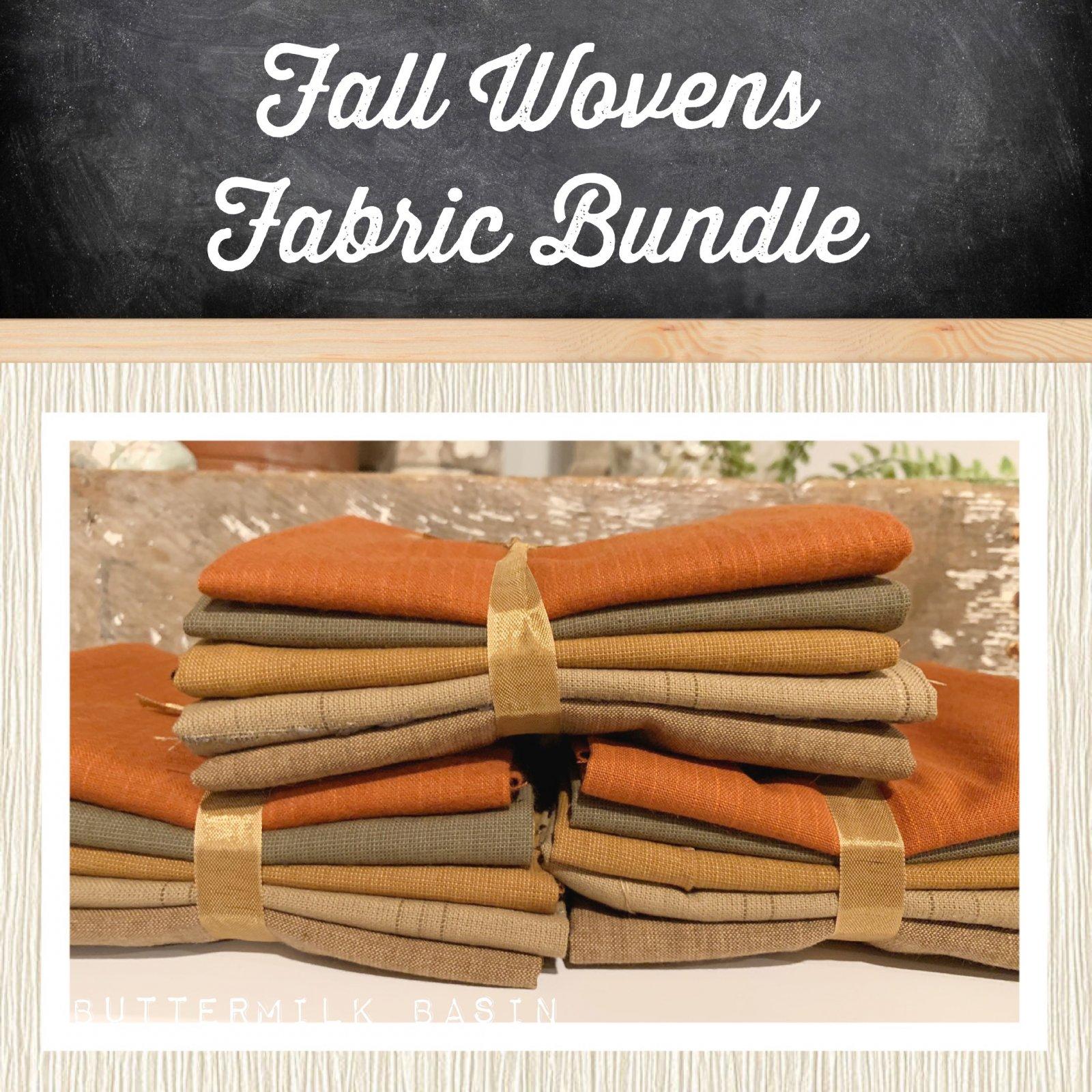 Fall Wovens Fabric Bundle