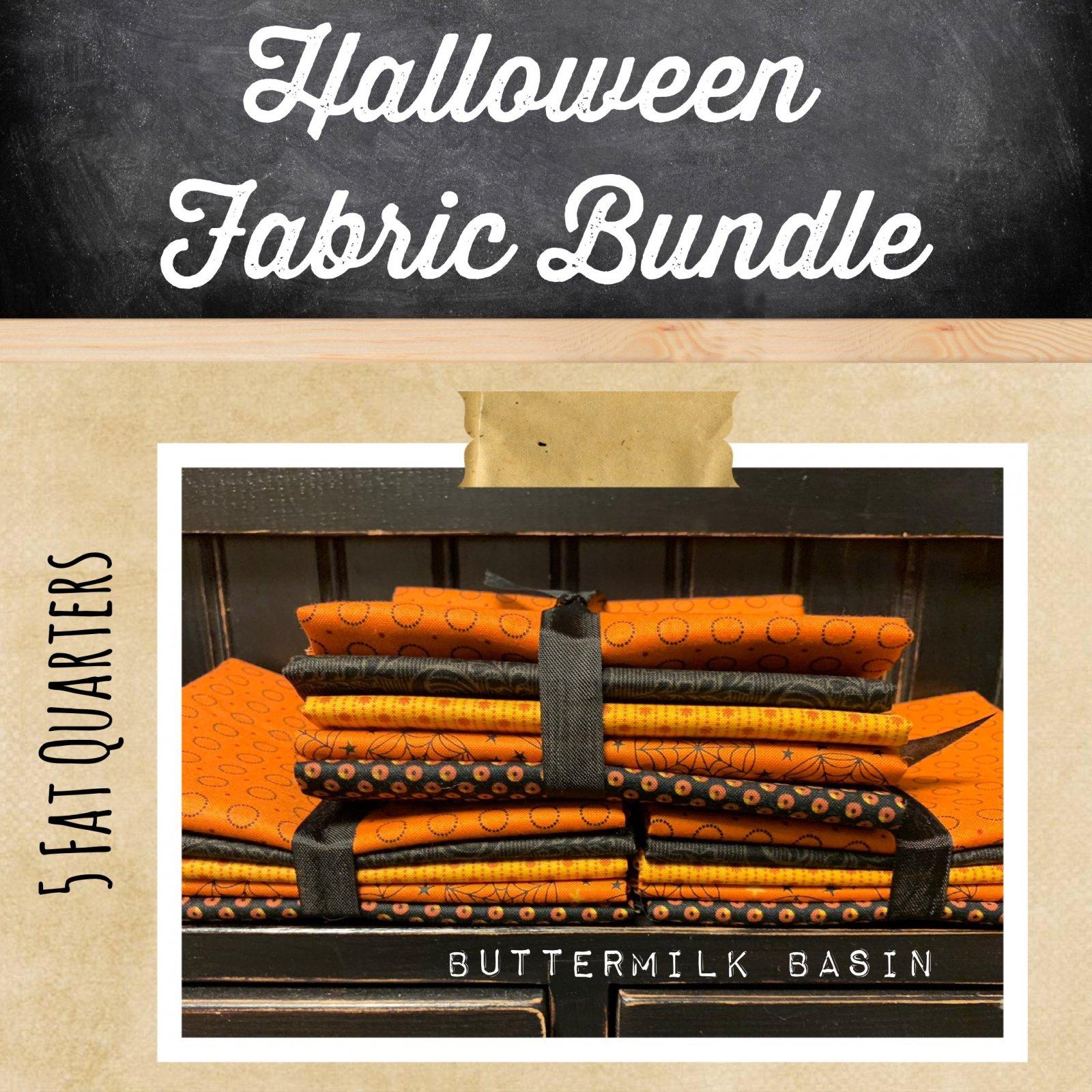 Halloween Fabric Bundle