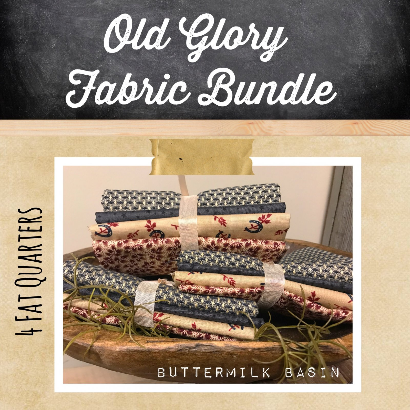Old Glory Fabric Bundle