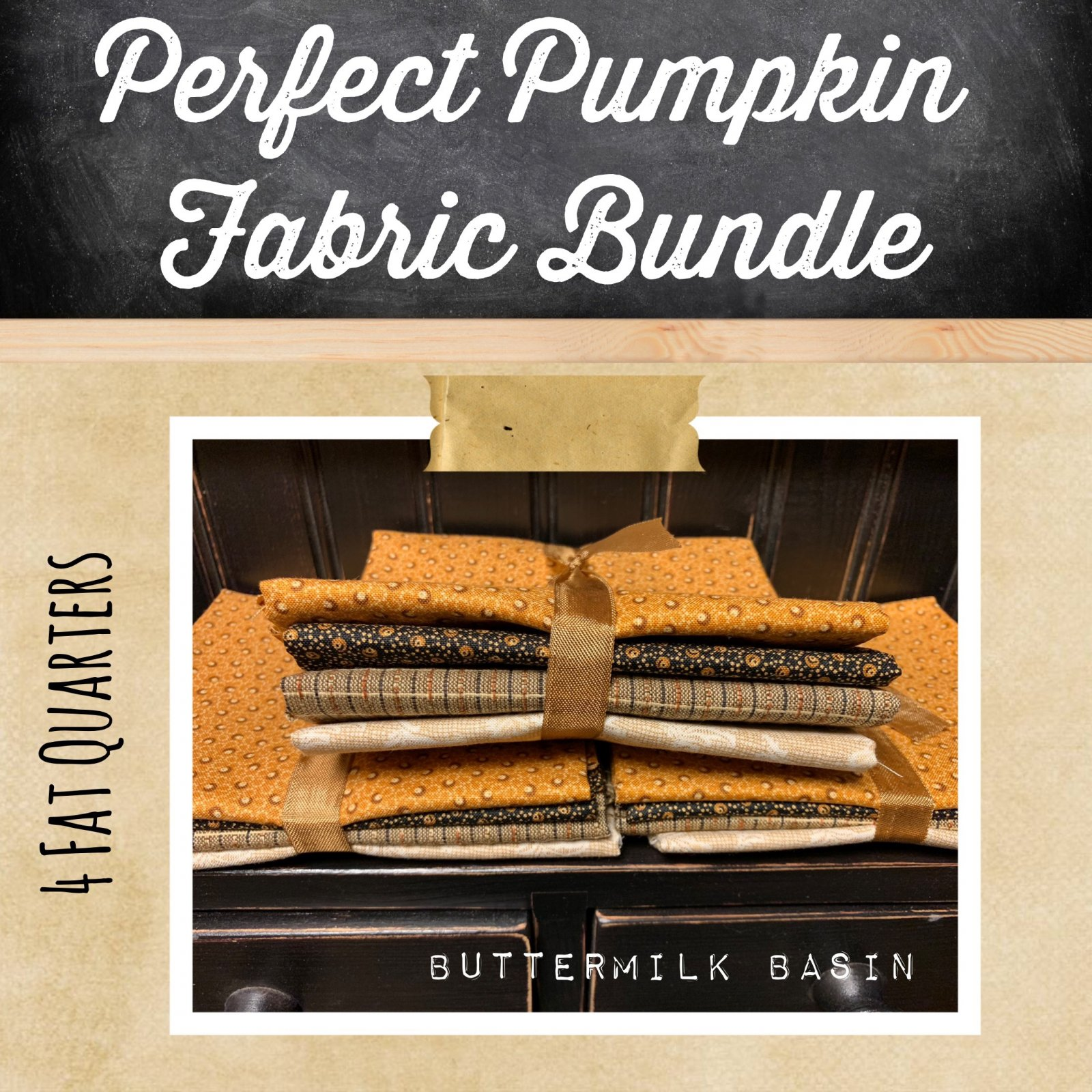 Perfect Pumpkin Fabric Bundle
