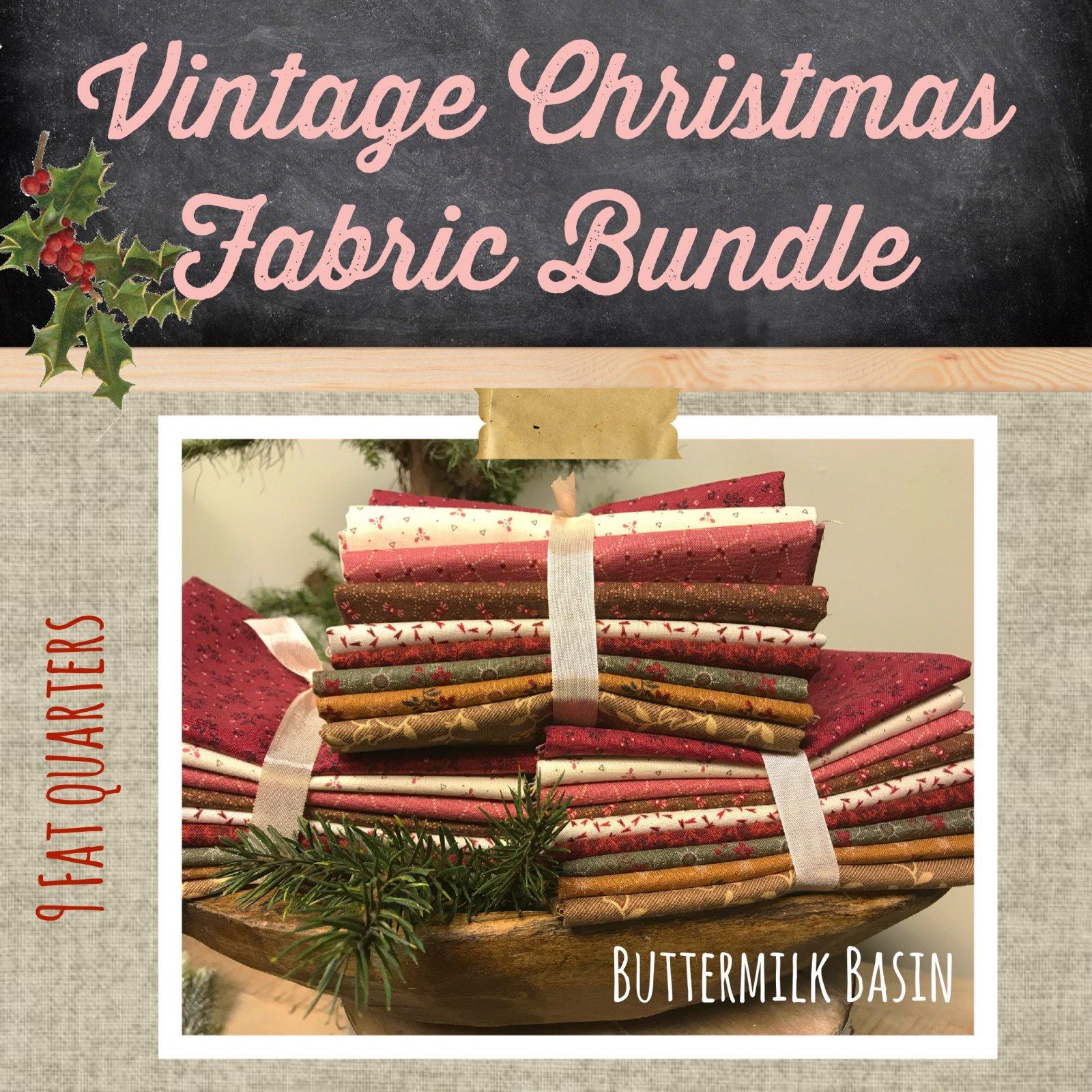 fabric_bundle_vintage_christmas_xjpg - Vintage Christmas Fabric