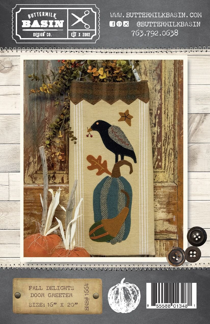 Fall Delights Door Greeter Pattern & Kit