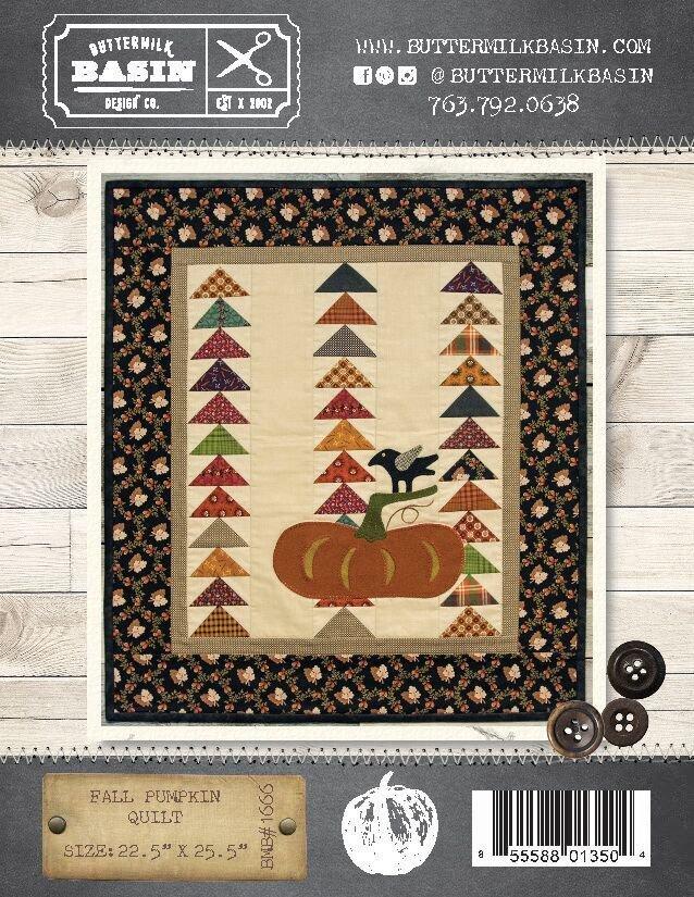 Fall Pumpkin Quilt Pattern & Kit