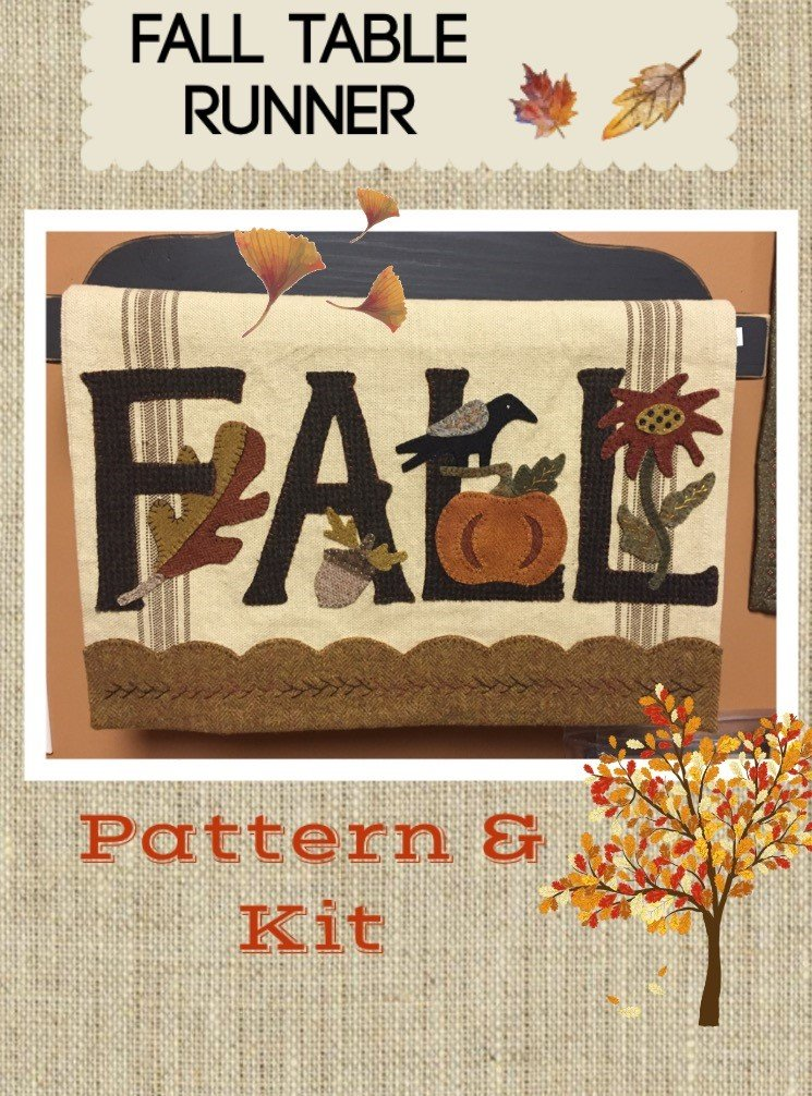 Fall Table Runner * Kit & Pattern