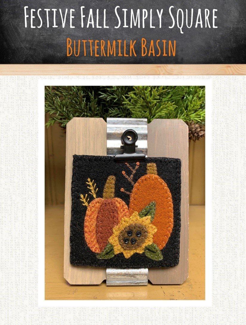 Festive Fall Simply Square *Kit & Pattern