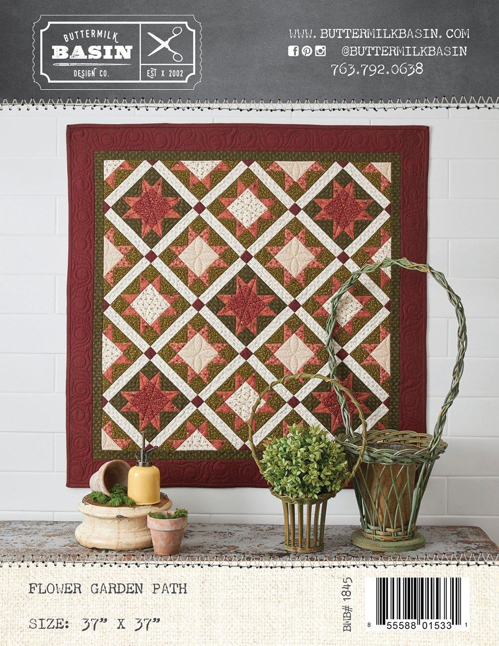 Flower Garden Path Quilt *Kit & Pattern