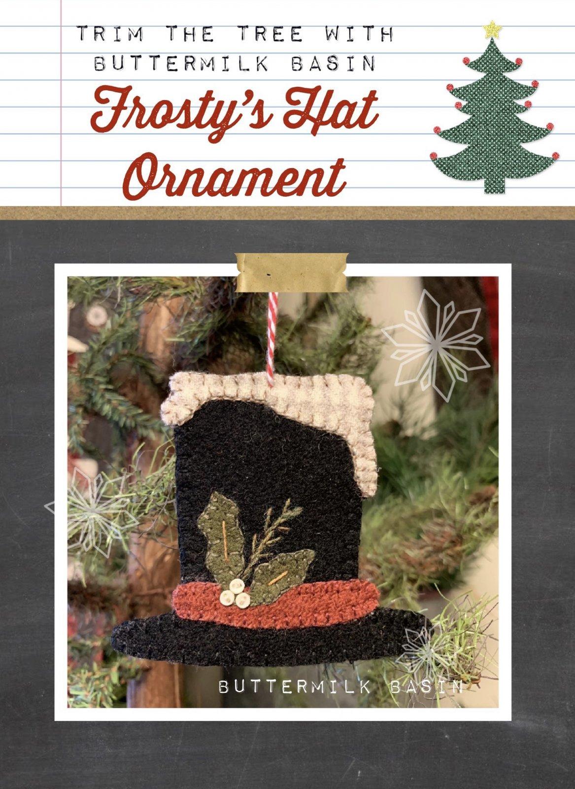 Frosty's Hat Ornament * Pattern & Kit
