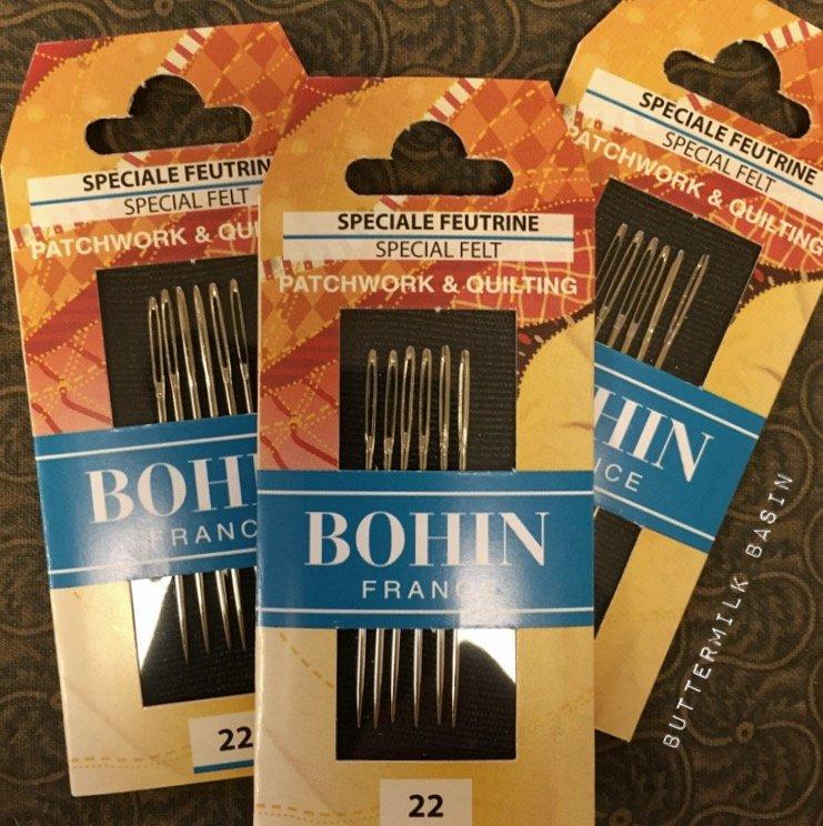 Bohin Chenille Needles For Felt Work