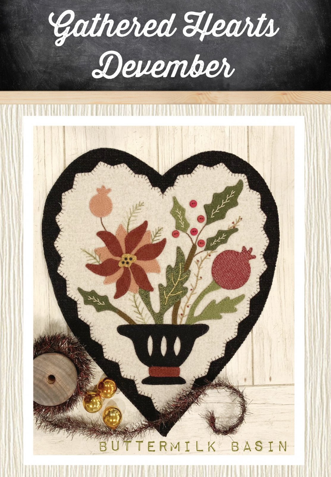 Gathered Hearts * December Kit & Pattern