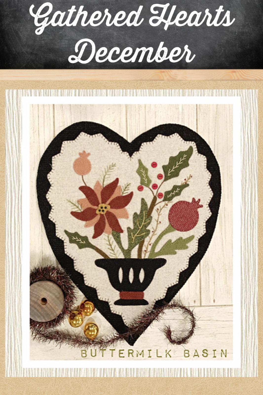 Gathered Hearts * December Kit & Pattern