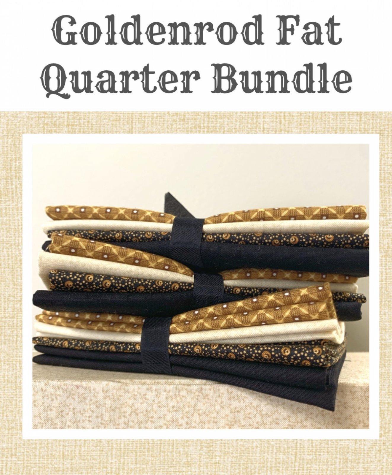 Goldenrod Fat Quarter Fabric Bundle