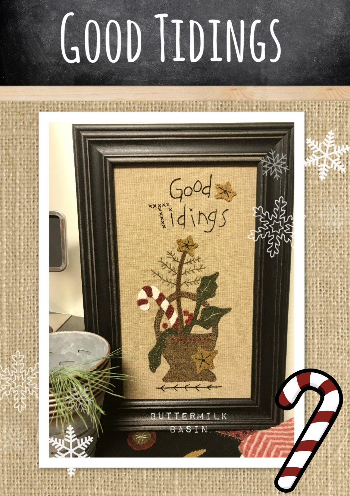 Good Tidings KIT & Pattern