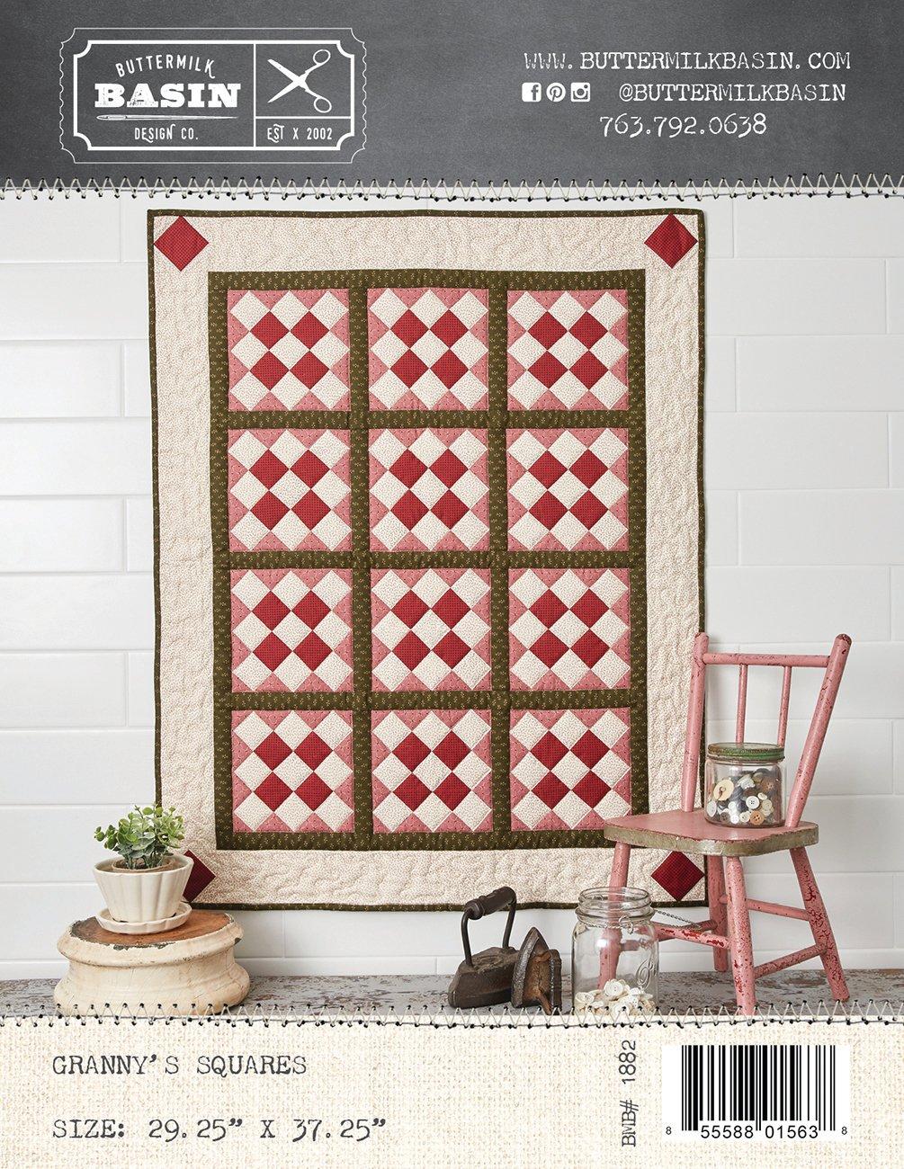 Granny Squares Quilt *Pattern
