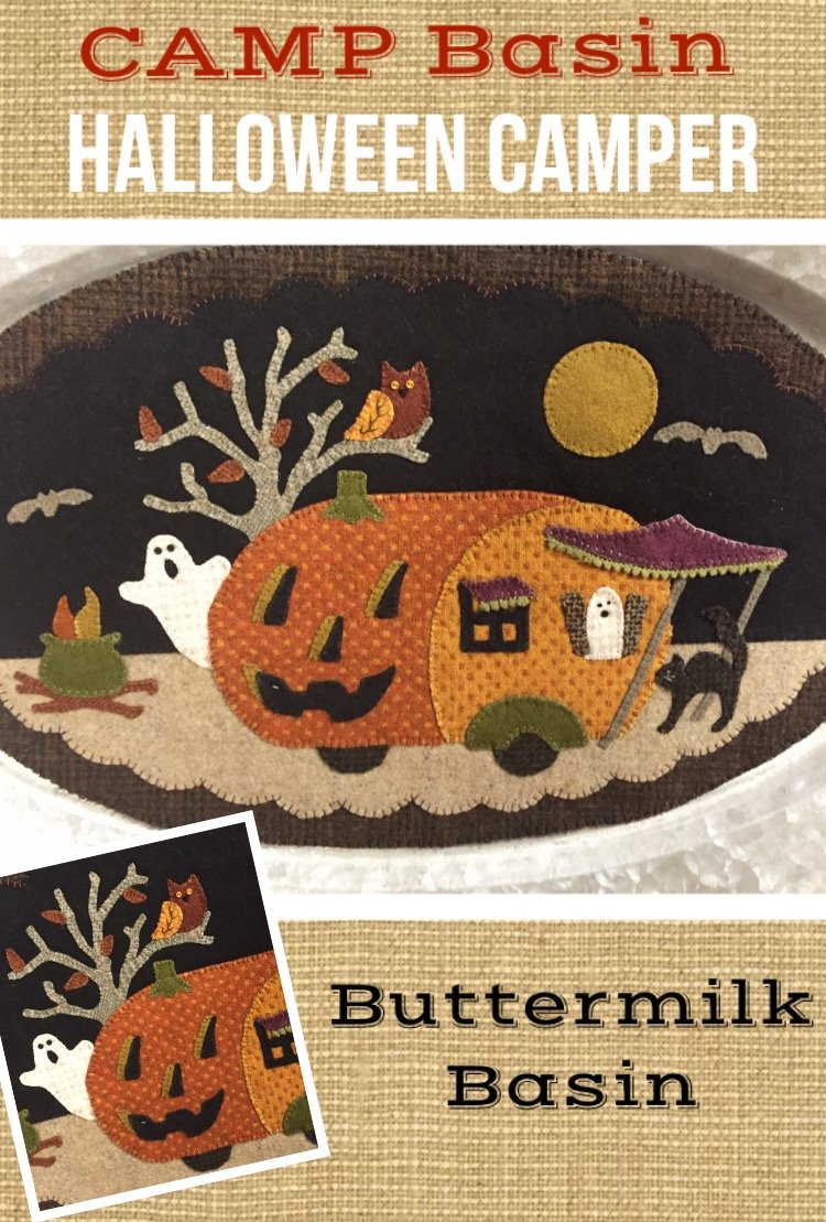 Halloween Camper Pattern * KIT & Pattern