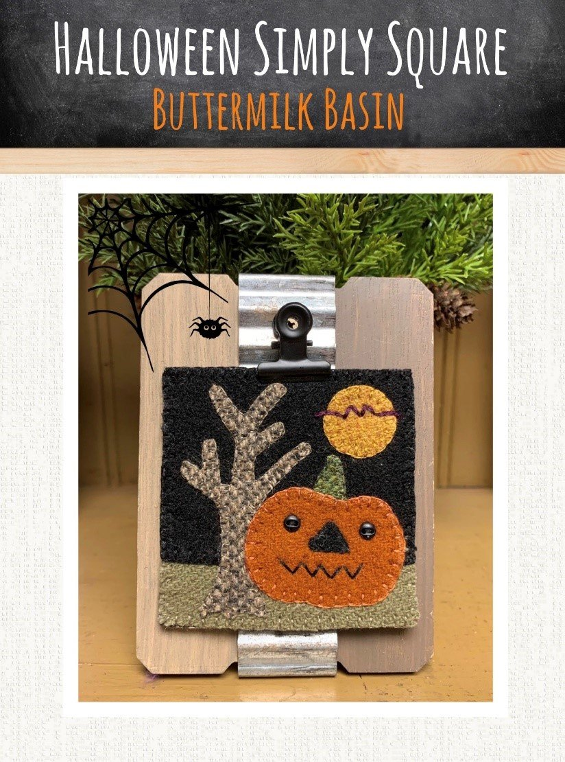 Halloween Simply Square *Kit & Pattern