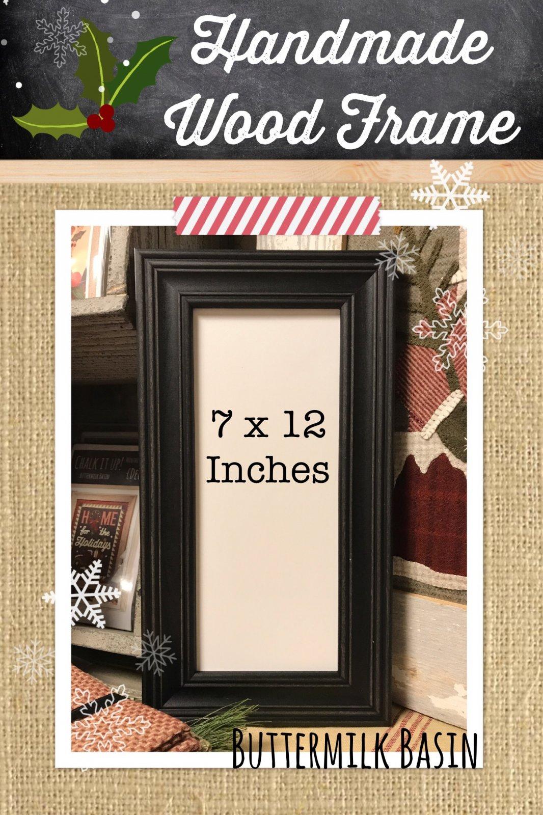 5 X 12 Handmade Frame
