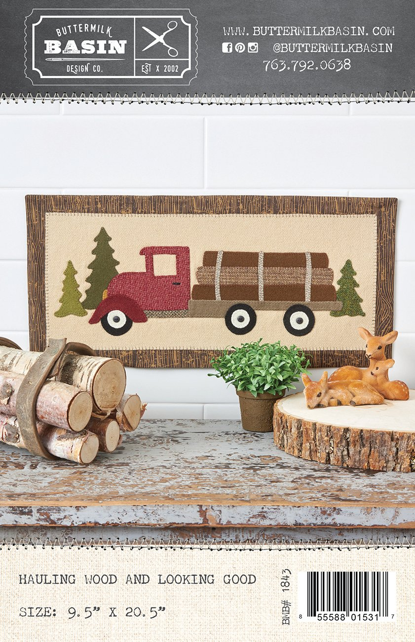 Hauling Wood and Looking Good *Pattern