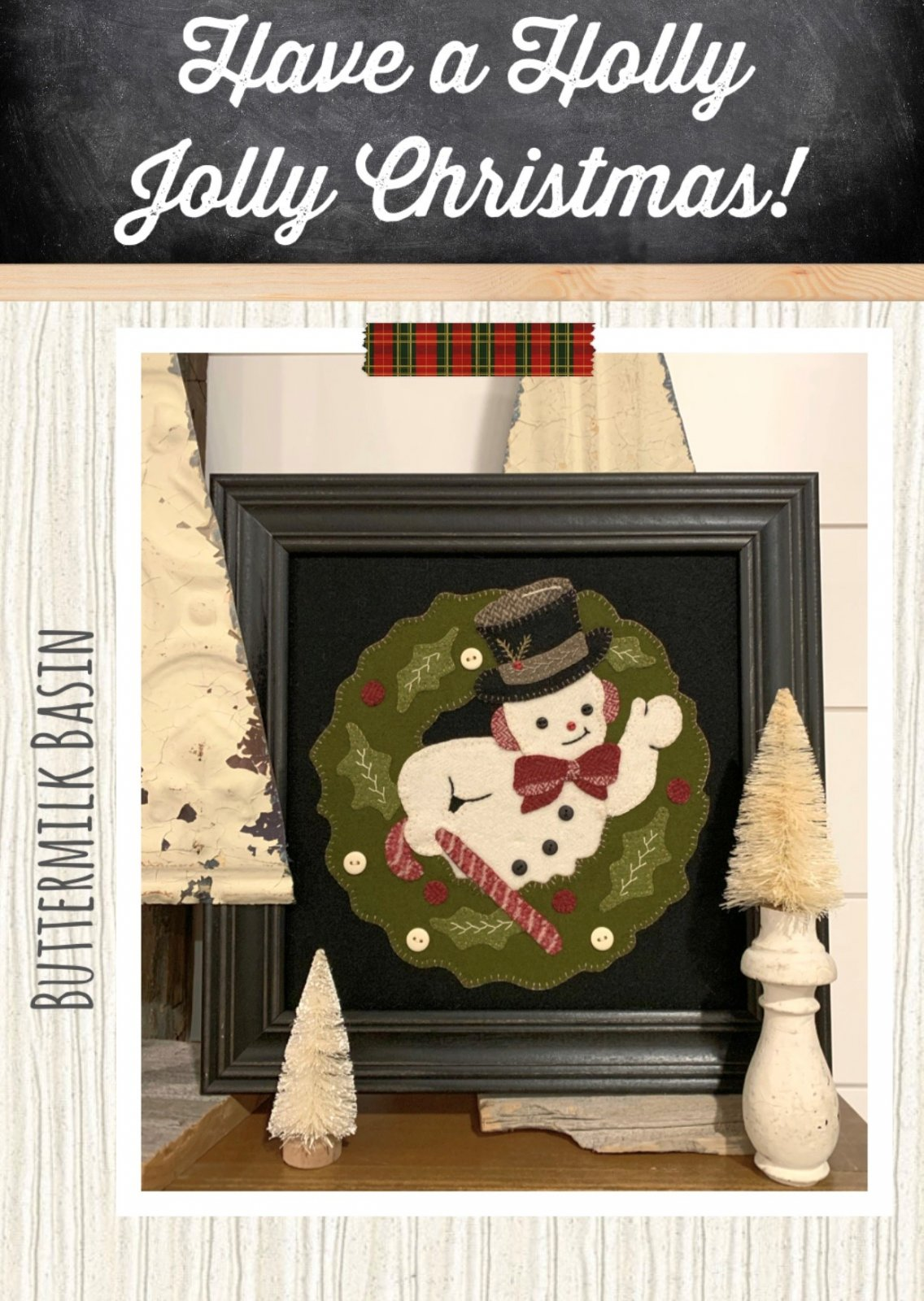 Have a Holly Jolly Christmas! *Kit & Pattern