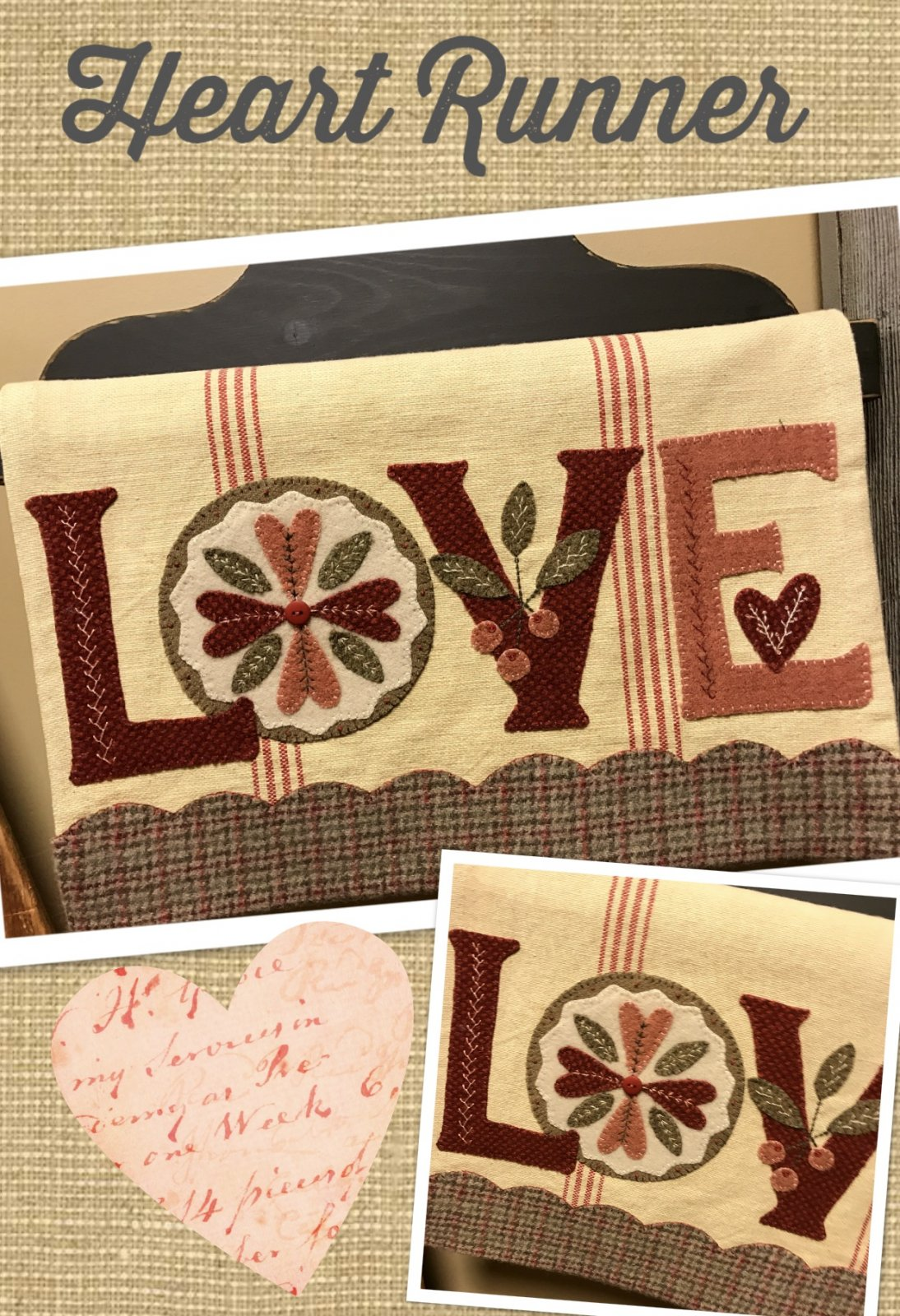 LOVE Runner KIT & Pattern