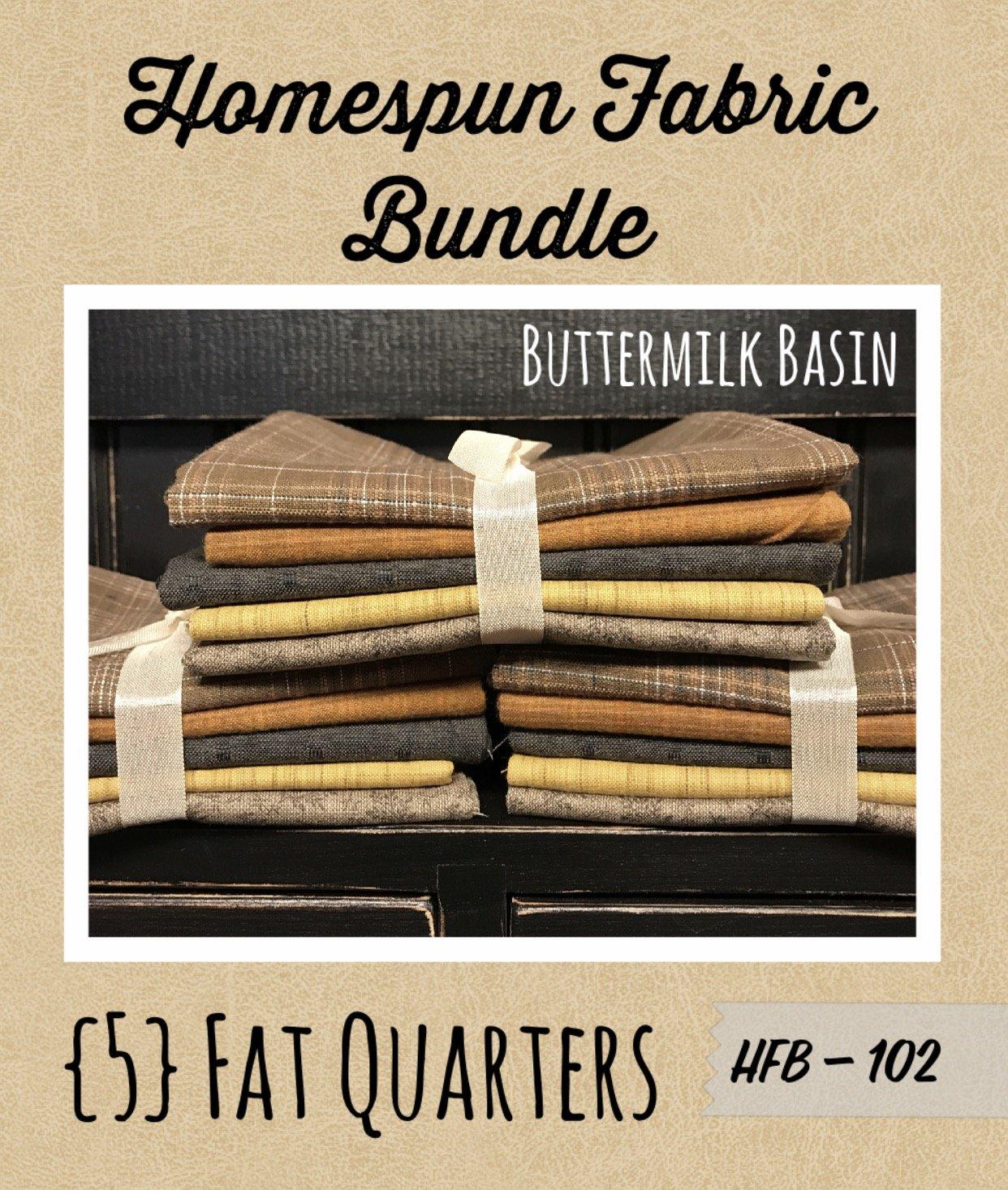 Homespun Fabric Bundle HFB102