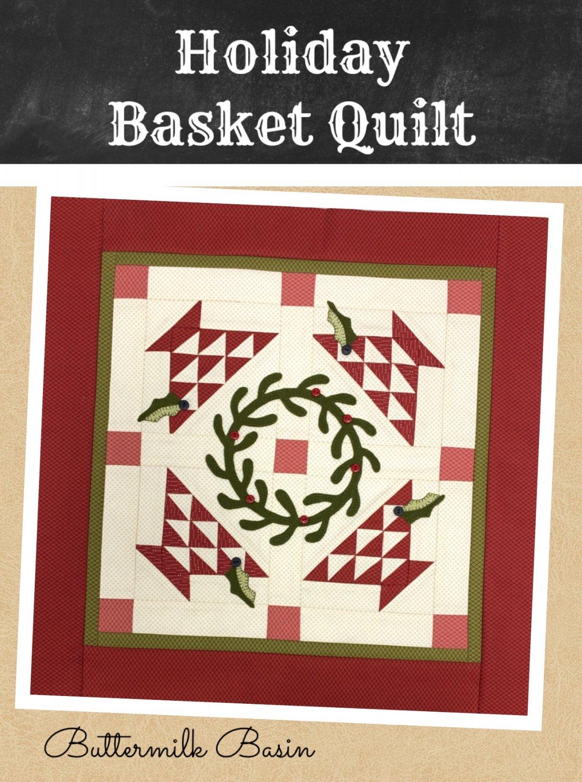 Holiday Basket Quilt * Kit & Pattern