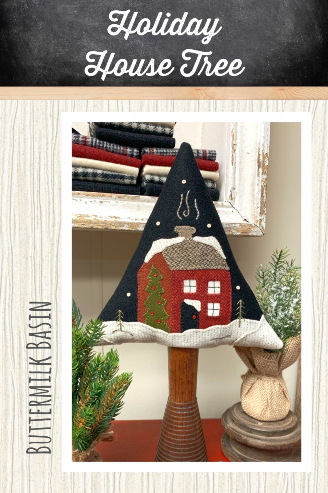 Holiday House Tree *Kit & Pattern