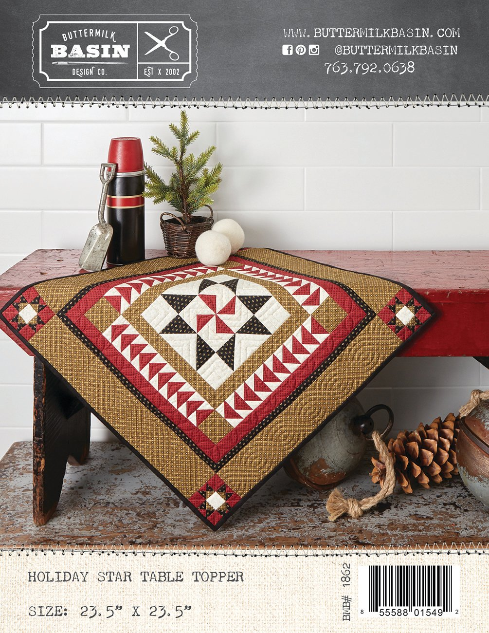 Holiday Star Table Topper *Pattern
