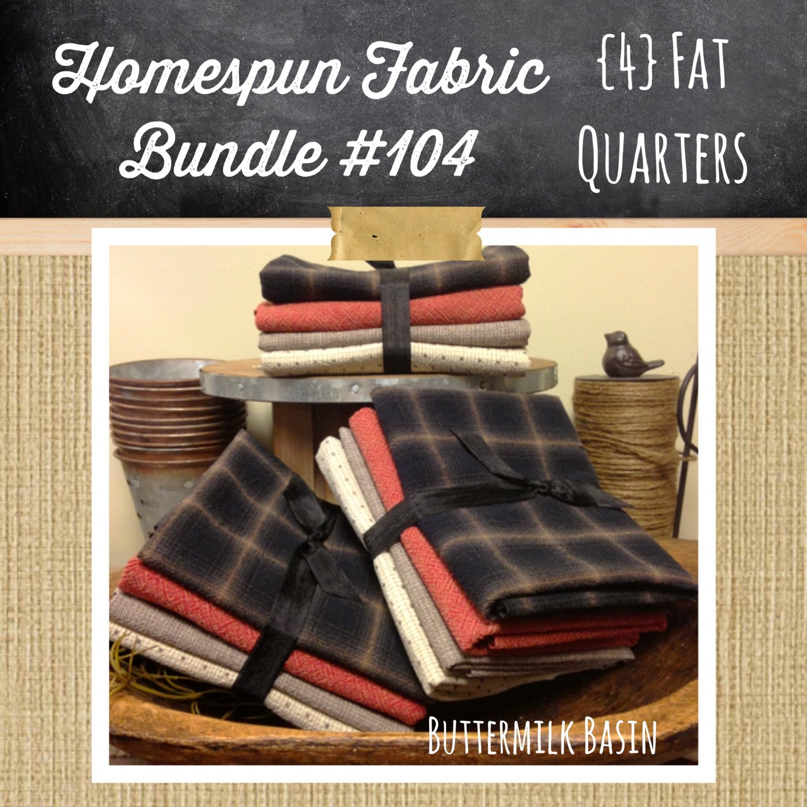 Homespun Japanese Fabric Bundle #104